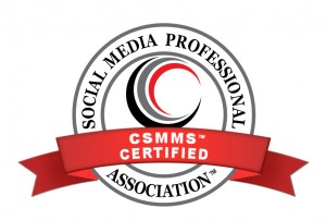 Certification in Social Media. Certified Social Media Marketing Specialist (tm) CSMMS(tm) Program